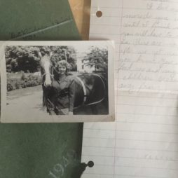 Mother's love letter to Marvin, lost for 70 years